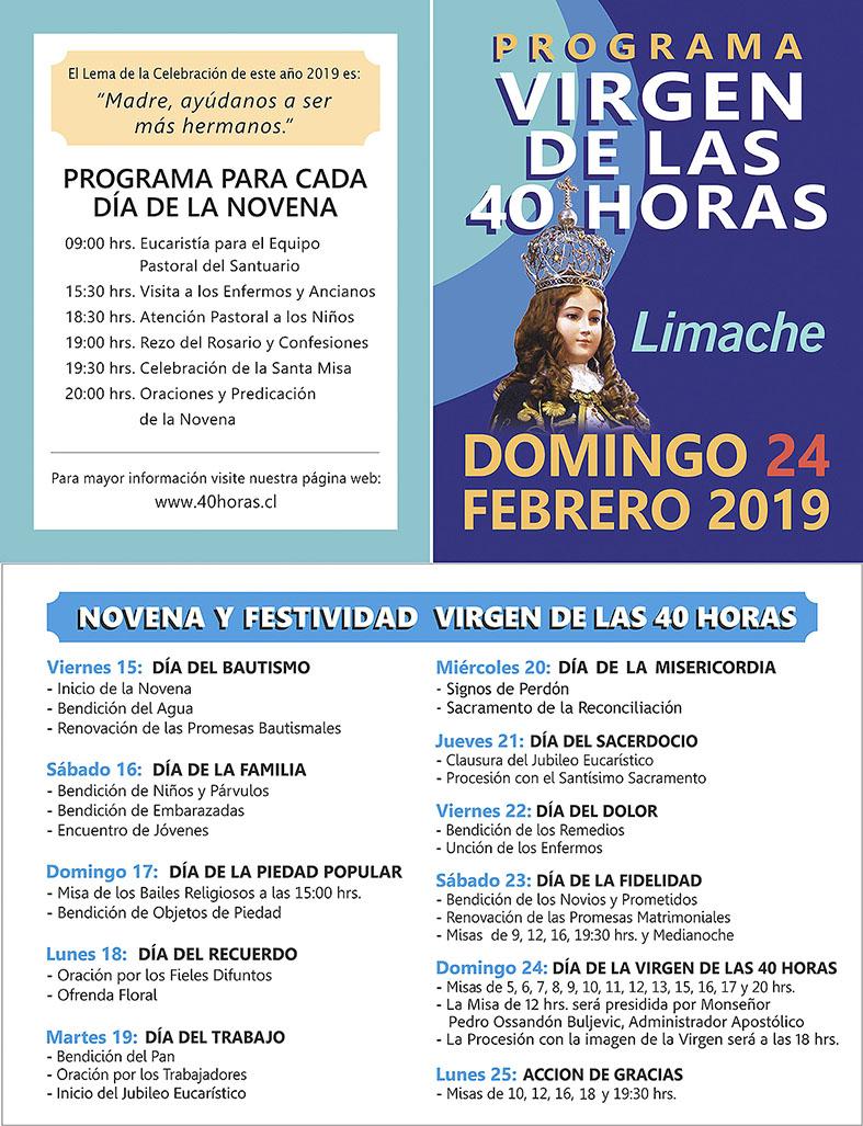 Programa 40 hrs 2019